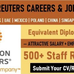 Thomson Reuters Careers | Latest Job Vacancy Openings