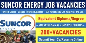 Suncor Energy Jobs   Hiring in USA-Canada-UK